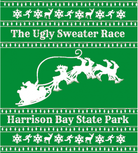 Ugly Sweater Race Shirt preview, green